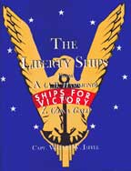 book cover Liberty ships from AZ ships for victory logo