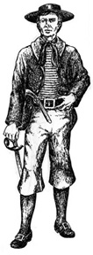 well-dressed privateersman