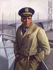 portrait of Captain Hugh Mulzac African American mariner