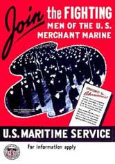 poster join the fighting merchant marine
