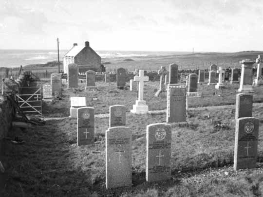 Graveyard at Kilchattan on Isle of Colonsay