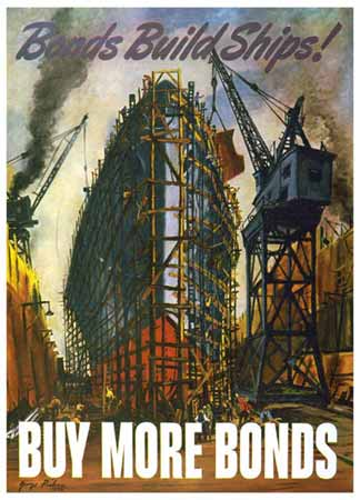 Bonds build Ships. Buy More Bonds poster
