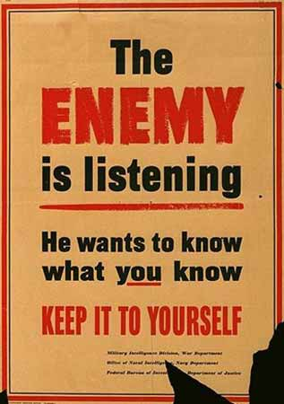 The Enemy is Listening poster