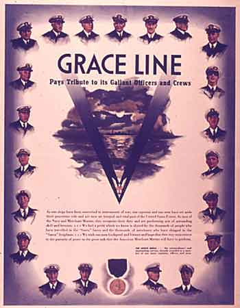 poster Grace Line Pays Tribute