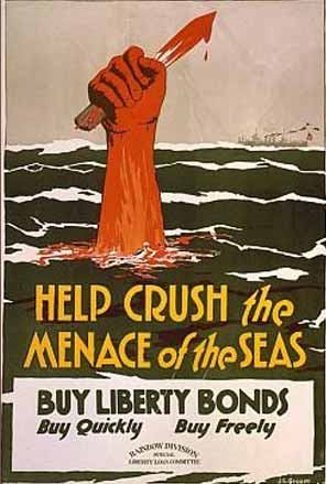 Help crush the menace of the seas poster