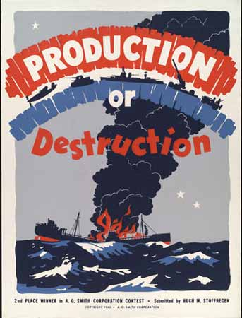 Production or destruction poster