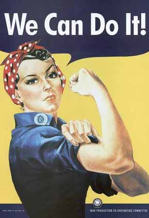 We Can Do It! - Rosie the Riveter poster