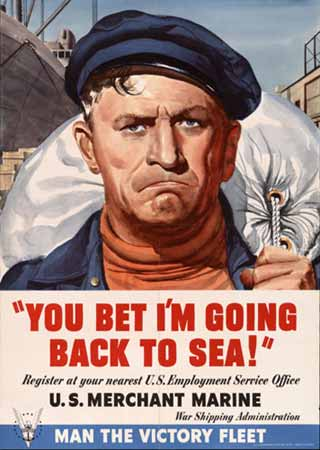 You bet I'm going back to sea! poster