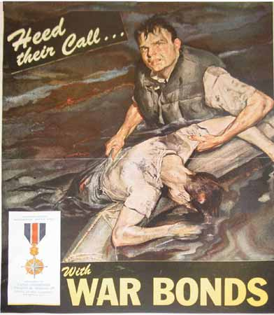 poster Heed their Call. . . With War Bonds