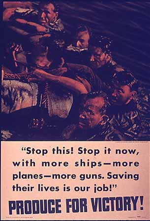 WW2 Poster Stop this! Stop it now