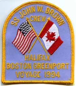 John W. Brown Crew Halifax