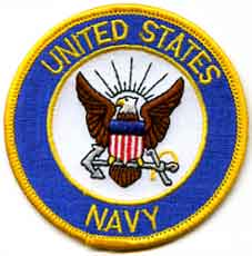 United States Navy Embroidered Patch